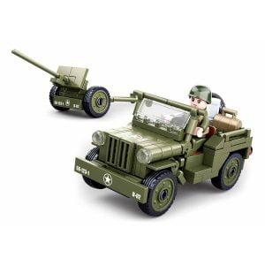 Sluban Allied Jeep