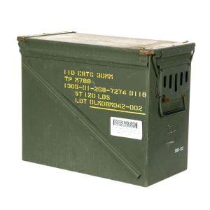Munitiekist 30mm 110 CRTG gebruikt